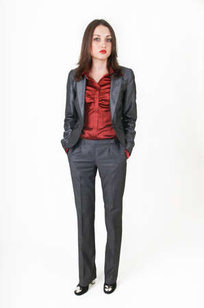 Young business woman in business clothes Stock fotó