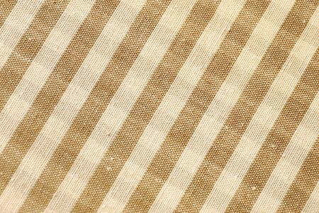 gingham pattern: Macro brown and beige gingham pattern Stock Photo