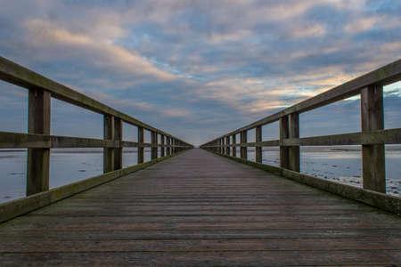 german north sea region: Pier