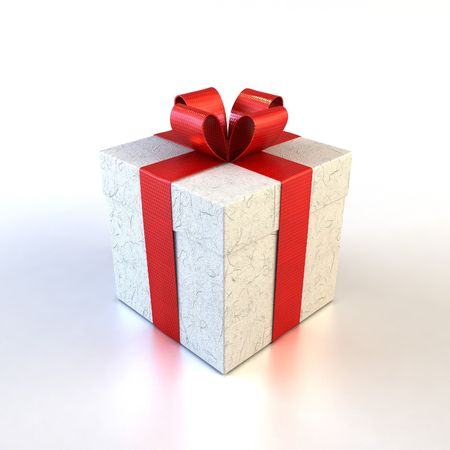 merriment: 3d rendring of the gifts boxe Stock Photo