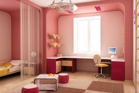 3d interior of the children's room Stock Photo - 2824547