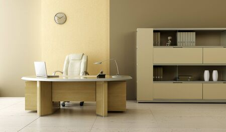 modern office inter 3d rendering Stock Photo - 3358749