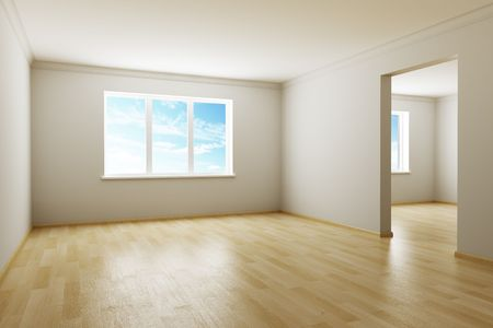 3d rendering the empty room Stock Photo - 3478628