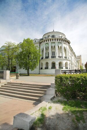 classicism: the old part of city with classicism style houses. This is the russian city - Ekaterinburg
