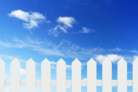 cerca blanca: nueva valla blanco