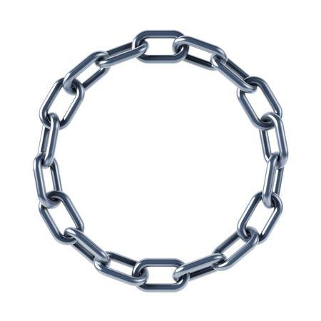 cadenas: cadena de enlaces aislados 3D