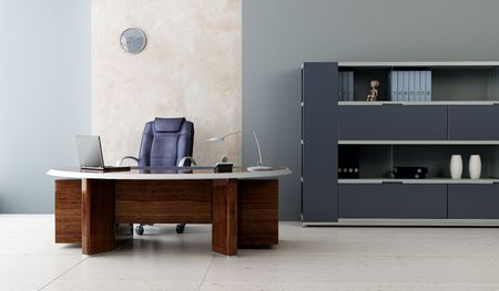 modern office inter 3d rendering Stock Photo - 4806156