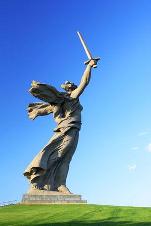 volgograd: memorial motherland calling in Volgograd, Russia