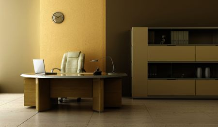 modern office interior 3d rendering Stock Photo - 7150800
