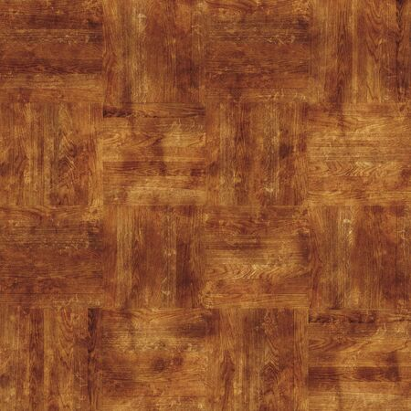chequer: seamless texture of the old chequer parquet Stock Photo