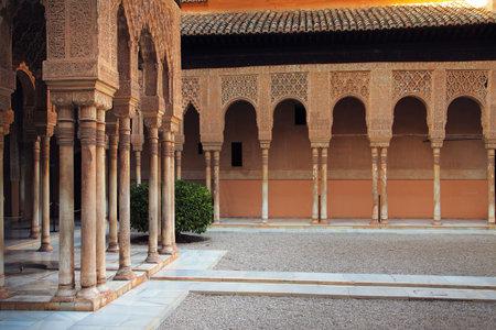 Alhambra patio, Granada, Spain Stock Photo - 7474508