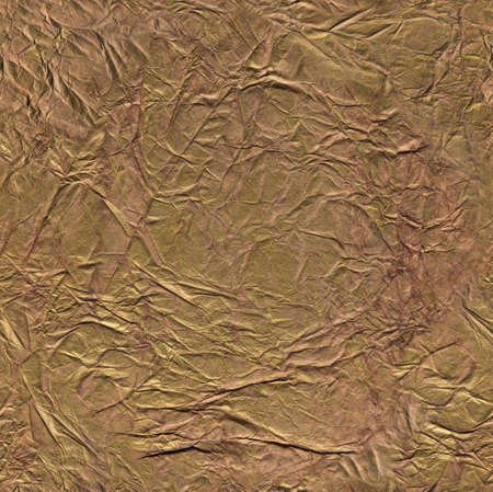bronze: the seamless texture crumpled paper