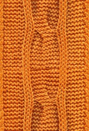 woolen: seamless knitted texture Stock Photo