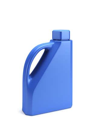 lube: Motor Oil Bottle isolated 3d render Stock Photo