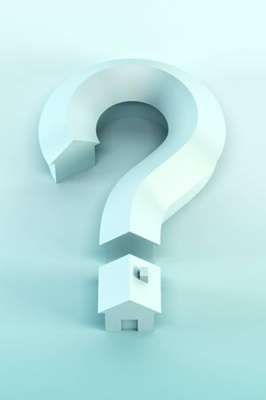 loans: The house in the form of a question mark