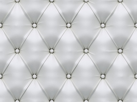 nahtlose weißem Leder Textur Standard-Bild