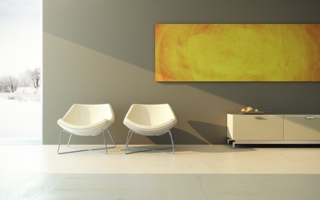 modern design of lounge room photo
