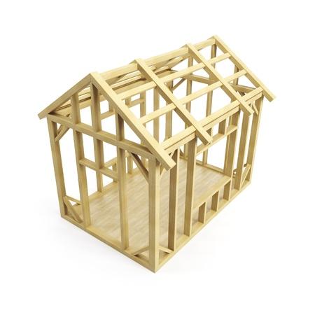 materiales de construccion: La construcción de viviendas, aisladas 3d