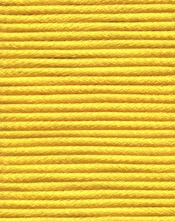 nylon string: closeup photo of yellow coil