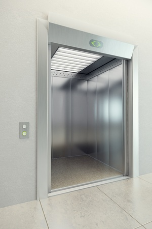 승강기: 오픈 도어와 현대 엘리베이터