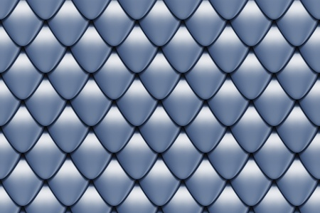 seamless scales texture 3d render Stock Photo