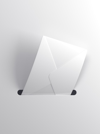 outgoing: outgoing letter, 3d render