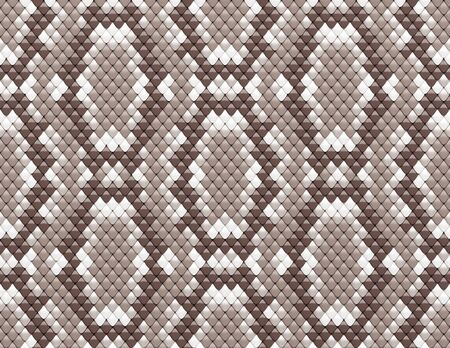 snake skin pattern: seamless scales texture 3d render Stock Photo