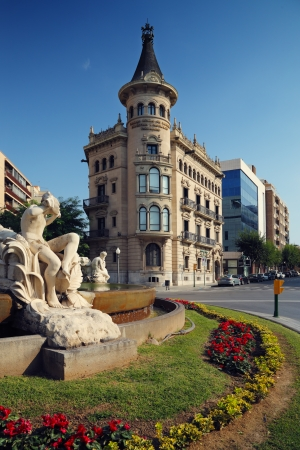 commerce and industry: The headquarters of the Chamber of Commerce, Industry and Shipping, Tarragona, Spain Stock Photo