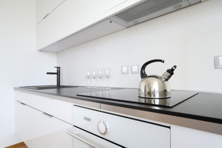 modern kitchen inter in minimalism style Stock Photo - 16555451