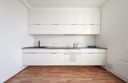 modern kitchen interior in minimalism style Stock Photo - 17166100