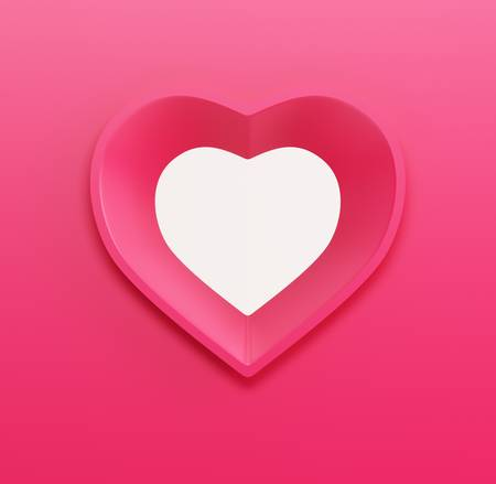gift card for Valentine's day. 3d render Stock Photo - 17569597