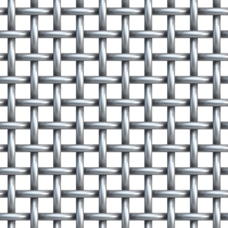 seamless texture of metal net, 3d render photo