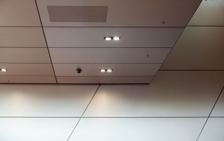 architectural lighting design: high tech style interior