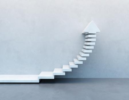 上向きに行く階段 写真素材 - 21035593
