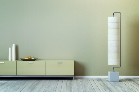 modern design of lounge room Standard-Bild