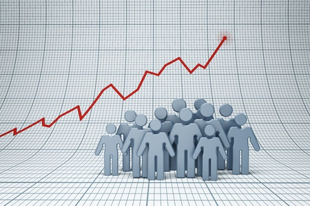 increment: positive trend