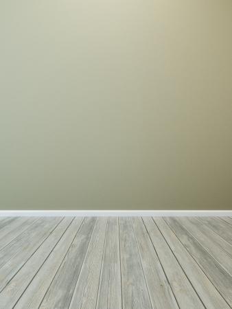 empty wall in the room Standard-Bild