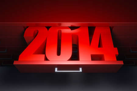 new year 2014 are coming photo
