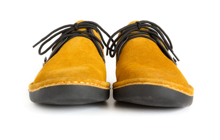 moccasin: male modern style moccasin Stock Photo