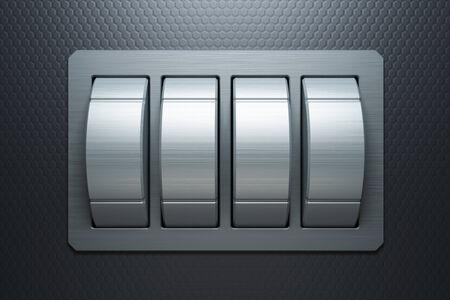 combination lock, 3d rendering
