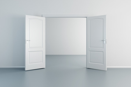empty white room with opened door & 1307 Opened Door Cliparts Stock Vector And Royalty Free Opened ... pezcame.com