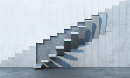 stairs leading upward, architectural composition 스톡 콘텐츠