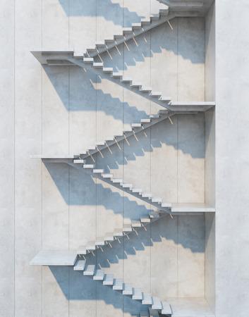 escalera: escaleras que conducen hacia arriba, composici�n arquitect�nica