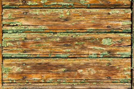 painted wood: texture of old painted wood Stock Photo