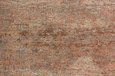 the red wall: old brick wall seamless texture Stock Photo