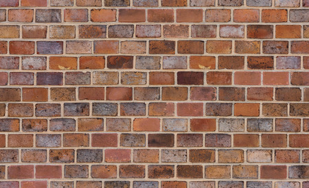 red brick: seamless old brick wall texture Stock Photo