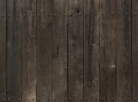wood floor: old knotted wooden planks texture