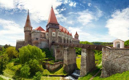 Corvin Schloss in Hunedoara, Rumänien
