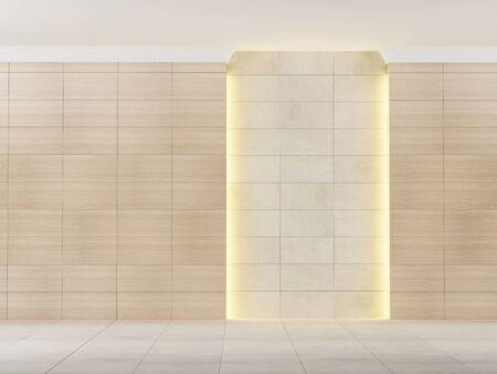 empty: empty room with lighting