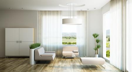 interior design of lounge room